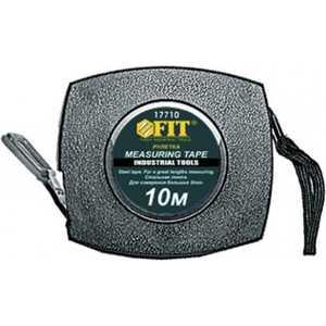 Рулетка FIT 50м стальная лента (17750) лента металлизированная fit 11662