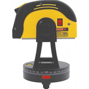Рулетка-автостоп FIT с лазером на поворотном столе 5м (25мм) (18675)