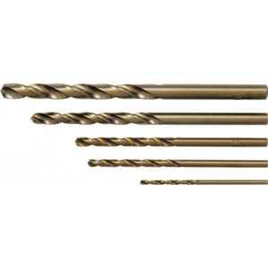 Набор сверл по металлу FIT 2.0-8.0мм 6шт с кобальтом ''Профи'' (34013)