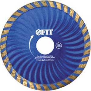 Диск алмазный FIT 230х22.2мм Турбо Волна (37487) диск отрезной алмазный турбо 115х22 2mm 20006 ottom 115x22 2mm