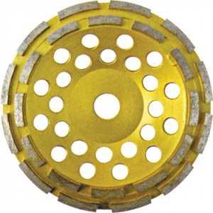 Круг шлифовальный FIT 125мм алмазный двойной ряд (39517)