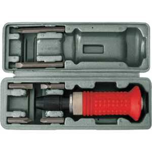Отвертка ударная FIT 6 бит CrV резиновая ручка в чемоданчике (56266)