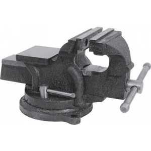 Тиски станочные FIT поворотные усиленные125мм 10кг (59728)