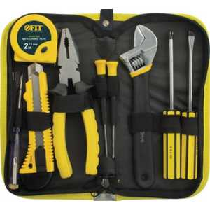 Набор инструмента FIT 9шт (65139) разводной ключ fit it 150 мм 70115