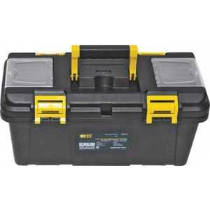 Ящик для инструмента FIT пластиковый 16'' 40.5х21х19см двухсторонние замки (65576)