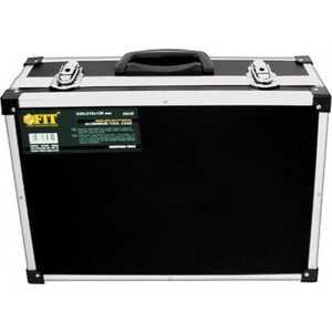 Ящик инструмента FIT алюминиевый 43x31x13см черный (65630)