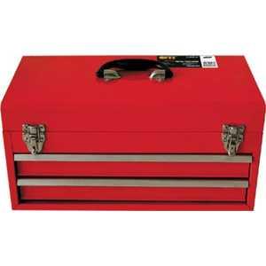 Ящик для инструмента FIT металлический с 2-мя выдвижными полками (65683)