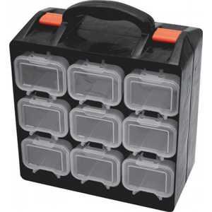 Ящик для крепежа FIT двухсекционный (съемные ячейки) 34х28.5х14.5см (65658) угловой диван woodcraft кормак угловой модуль с ящиком
