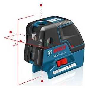 Точечный лазер Bosch GCL 25 Professional (0.601.066.B00)