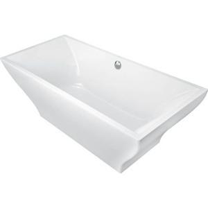 Ванна квариловая Villeroy Boch La belle св/стоящая с пан 180x80 белая слив-перелив хром (UBQ180LAB2PDV-01)