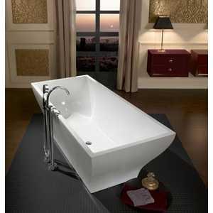 Ванна квариловая Villeroy Boch La belle св/стоящая с пан 180x80 старвайт слив-перелив хром (UBQ180LAB2PDV-96)