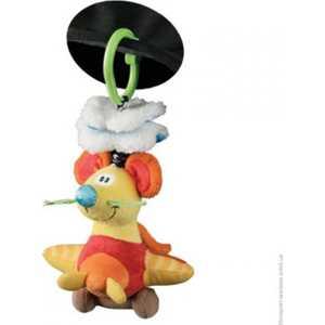 Playgro Игрушка-подвеска Мышка 101148 мягкие игрушки playgro игрушка инерционная мышка