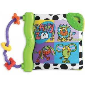 Playgro Книжка-прорезыватель Зоопарк 170173 прорезыватели playgro книжка прорезыватель ферма