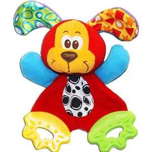 Фотография товара playgro Мягкая игрушка-прорезыватель ''Щенок'' 183155 (316569)