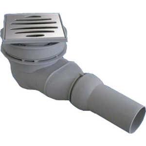 Душевой трап Sanit для душевого поддона с горизонтальным сливом модель 823/BW (34.043.00.0000)