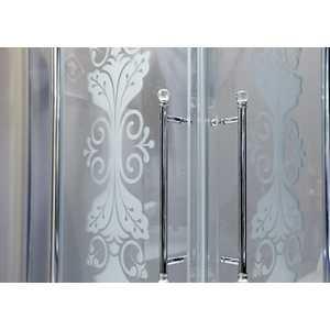 Шторка на ванну Huppe Design victorian 75-76. 5х156 см frozengrace (DV1401.092.344)