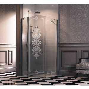 Душевая дверь Huppe Design victorian 88. 5-91. 5х196 см frozengrace (DV0302.092.344)