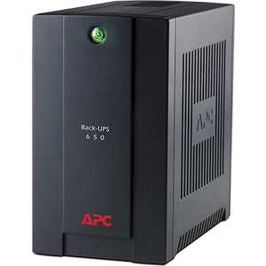 ИБП APC Back-UPS BC650-RS 650VA черный Standby with Schuko Входной 230V (BC650-RS)