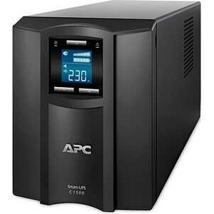 ИБП APC Smart-UPS С 1500VA (SMC1500I) ибп apc by schneider electric smart ups c 1500 smc1500i 2u