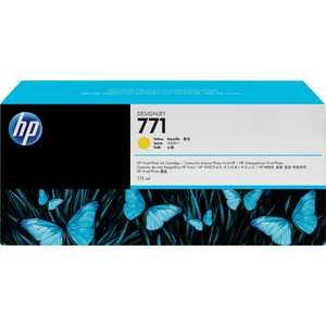 Картридж HP 771C желтый (B6Y10A) картридж hp 771c хроматический красный [b6y08a]