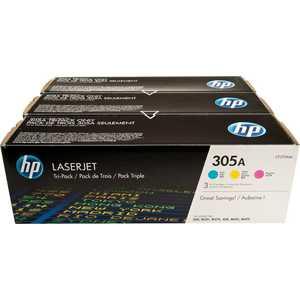 Картридж HP № 305A combo (CF370AM) цена и фото