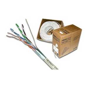NEOMAX Кабель UTP cat.5e 4 пары (305 м) гибкий (NM13001) сетевой кабель бухта 305м utp 5e neomax nm10001 медь 4 пары одножильный 24awg 0 51мм 125мгц 89 ом pvc taiwan