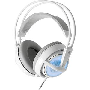 Игровые наушники SteelSeries Siberia v2 Frost 51125, white/ blue