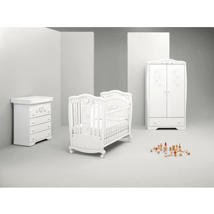 Кроватка Mibb ''Magic Bianco'' (белый) LI024LBO