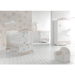 Кроватка Mibb Stella Bianco/Beige (белый/бежевый) LI762BB mibb dado ciliegio вишня li030dci