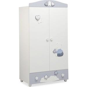 Шкаф Mibb ''Stella Bianco'' (белый/голубой) AR760BG