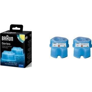 Аксессуар Braun CCR 2 Картридж для бритвы аксессуар жидкость для очистки бритв philips jet clean hq200 50