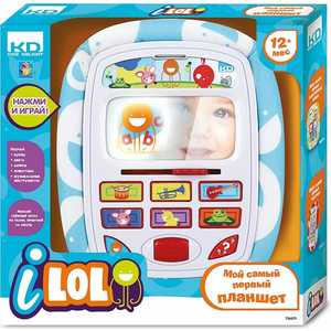 Мини-планшет 1Toy Kidz Delight I-Lol Т56271