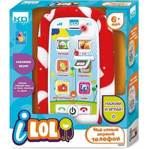 Смартфон 1Toy Kidz Delight I-Lol Т56272