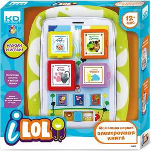 Электронная книга 1Toy Kidz Delight I-Lol Т56273
