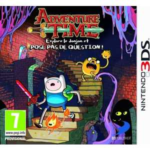 Игра для 3DS  Adventure Time: Explore the Dungeon Because I Don't Know (3DS, английская версия)