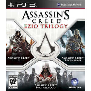 Игра для PS3  Assassin's Creed Ezio Trilogy (PS3, английская версия)