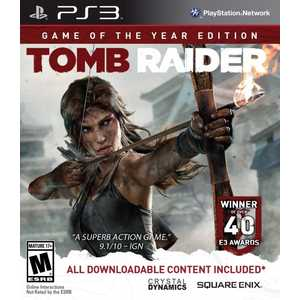 Игра для PS3  Tomb Raider Game of the Year Edition (PS3, английская версия)