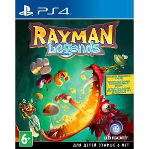 Игра для PS4  Rayman Legends (PS4, русская версия)
