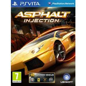 Игра для PS Vita  Asphalt Injection (PS Vita, английская версия)