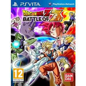 Игра для PS Vita  Dragon Ball Z: Battle of Z (PS Vita, английская версия)
