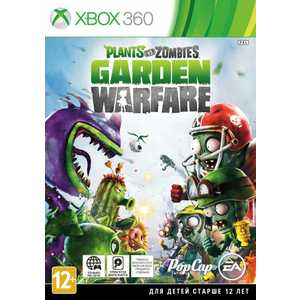 Игра для Xbox 360  Plants vs. Zombies Garden Warfare (Xbox 360, английская версия)