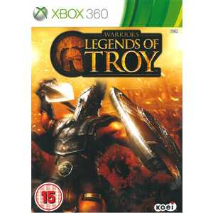 Игра для Xbox 360  Warriors: Legend of Troy (Xbox 360, английская версия)