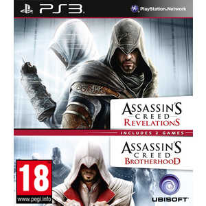 Игра для PS3  Assassin's Creed Revelations and Brotherhood Double Pack (PS3, английская версия)