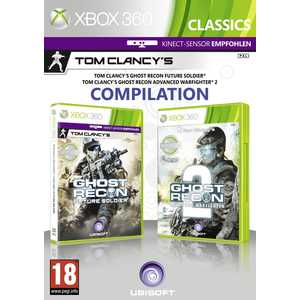 Игра для Xbox 360  Tom Clancy's Ghost Recon Future Soldier and Advanced Warfighter 2 (Xbox 360, английская версия)