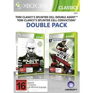 Игра для Xbox 360  Tom Clancy's Splinter Cell: Conviction and Splinter Sell Double Agent (Xbox 360, английская версия)