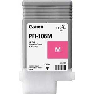 Картридж Canon PFI-106M (6623B001) картридж canon red pfi 206r красный