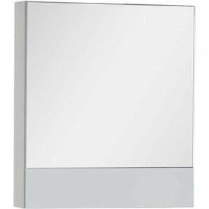 Зеркальный шкаф Aquanet Верона 58 белый (камерино) (175344) зеркало шкаф aquanet верона 90 дуб белый