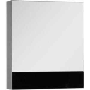 Купить зеркальный шкаф Aquanet Верона 58 черный (камерино) (175384) (327742) в Москве, в Спб и в России