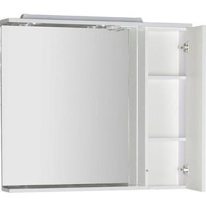 Зеркальный шкаф Aquanet Гретта 100 цвет белый (179208) шкаф изотта 23к дверь правая ангстрем