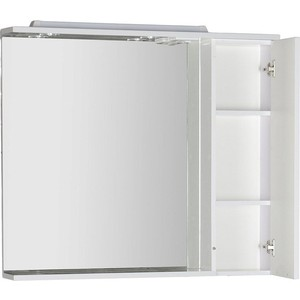 Зеркальный шкаф Aquanet Гретта 100 цвет белый (179208) зеркало шкаф aquanet фредерика new 100 171272